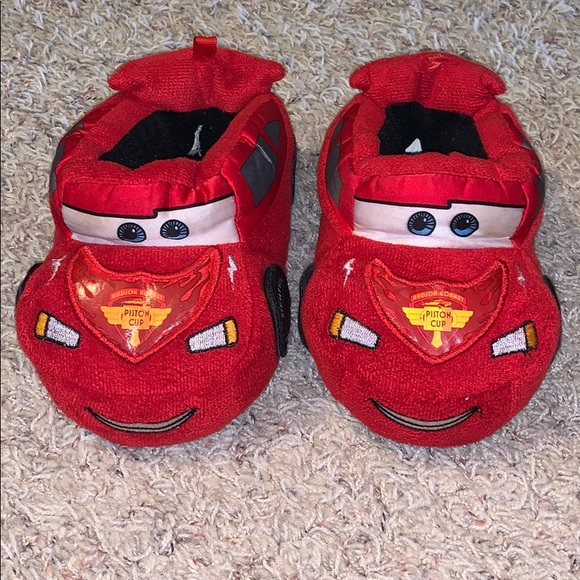 Disney Other - Lightning McQueen slippers 😍